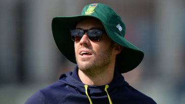 AB de Villiers sat out of the second warm-up game too