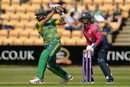 Hashim Amla hits down the ground, Northamptonshire v South Africans, Northampton, May 21, 2017