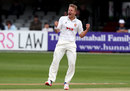 Neil Wagner struck as Hampshire were made to follow on, Essex v Hampshire, County Championship, Division One, Chelmsford, 3rd day, May 21, 2017