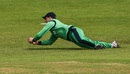 William Porterfield makes a tumbling save, Ireland v New Zealand, Malahide, 5th ODI, May 21, 2017
