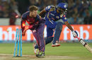 A rocket throw from Steven Smith at mid-off accounted for Ambati Rayudu, Mumbai Indians v Rising Pune Supergiant, IPL final, Hyderabad, May 21, 2017