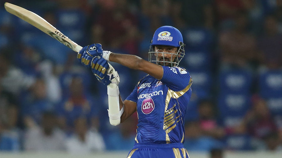 Krunal Pandya provided the late lift for Mumbai Indians