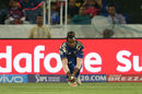 Kieron Pollard breathed life into the Mumbai Indians camp with an excellent catch at long-on, Mumbai Indians v Rising Pune Supergiant, IPL final, Hyderabad, May 21, 2017
