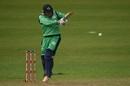 Gary Wilson plays a pull, Ireland v New Zealand, Malahide, 5th ODI, May 21, 2017