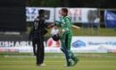 Ish Sodhi dismissed last man Peter Chase, Ireland v New Zealand, Malahide, 5th ODI, May 21, 2017