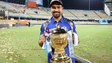Rohit Sharma won his third IPL title as captain