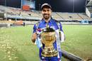 Rohit Sharma won his third IPL title as captain, Mumbai Indians v Rising Pune Supergiant, IPL final, Hyderabad, May 21, 2017