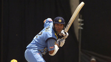 Yuvraj Singh during his first ODI innings