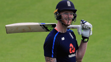 Ben Stokes was back with England after a successful IPL