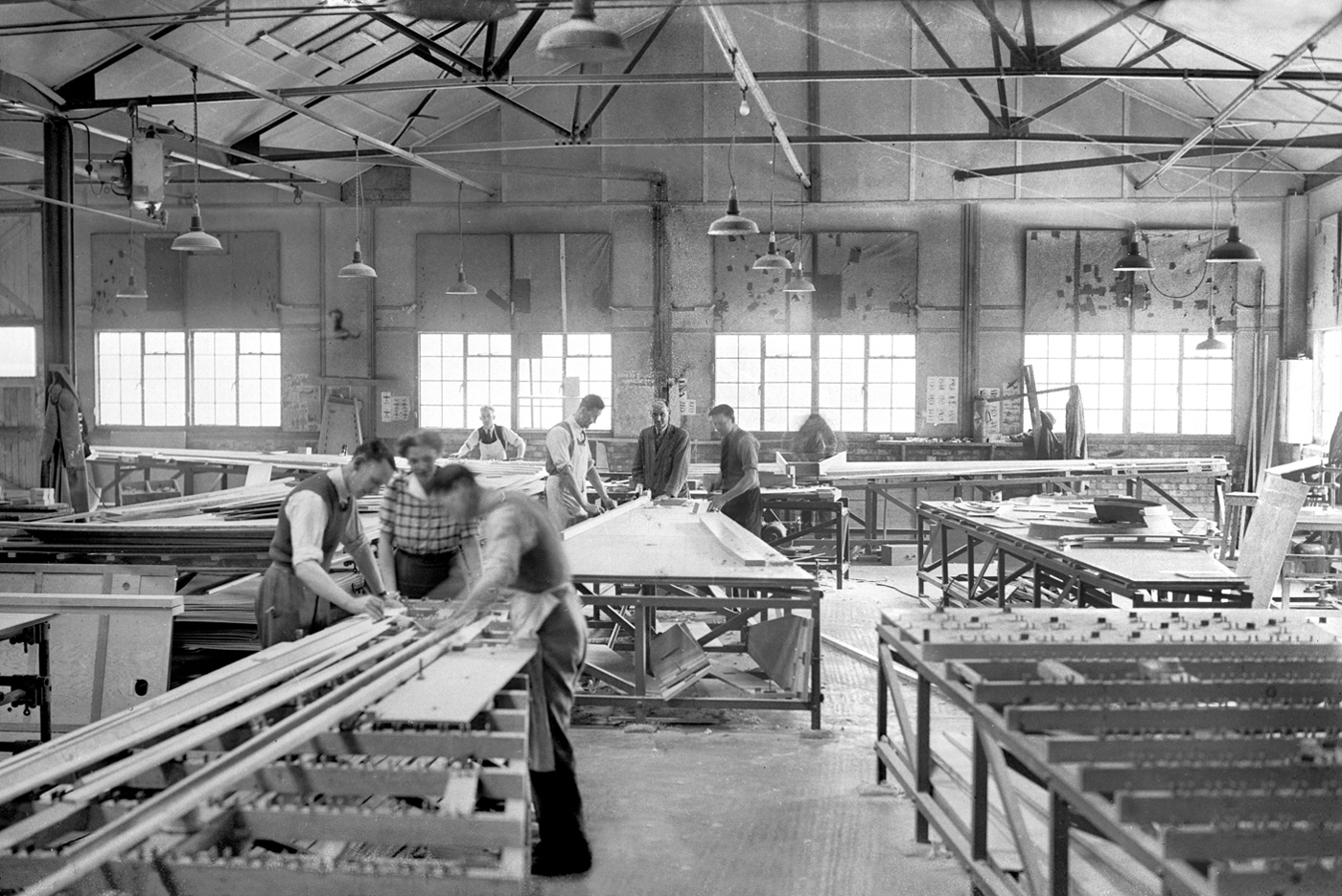 Walter Lawrence ran a successful joinery works, but the crafting of fast hundreds was his real passion