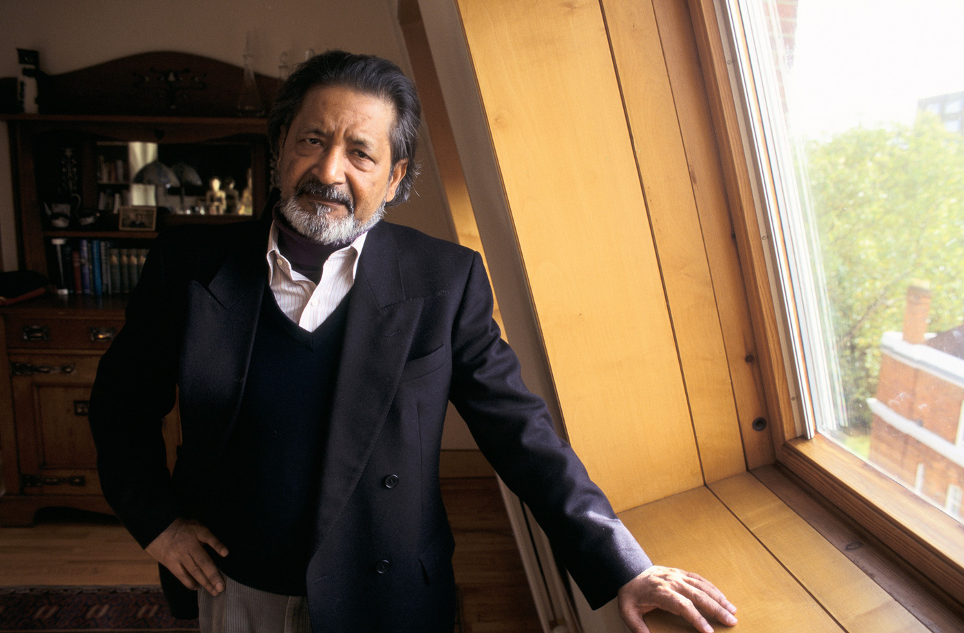 The anthology features such literary greats as VS Naipaul