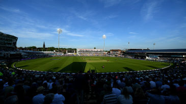 A general view of Headingley during the England v South Africa ODI