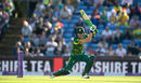 Faf du Plessis drives the ball through the off side, England v South Africa, 1st ODI, Headingley, May 24, 2017