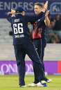 Chris Woakes finished with a four-wicket haul, England v South Africa, 1st ODI, Headingley, May 24, 2017