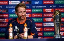 Kane Williamson addresses a press conference, London, May 25, 2017
