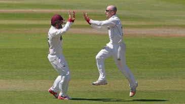 Jack Leach was quickly among the wickets