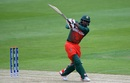 Imrul Kayes swats one into the leg side, Bangladesh v Pakistan, Champions Trophy warm-ups, Birmingham, May 27, 2017