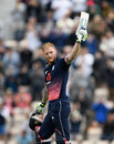Ben Stokes made his second ODI century off 77 balls, England v South Africa, 2nd ODI, Ageas Bowl, May 27, 2017