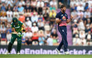 Liam Plunkett removed Faf du Plessis for the second time in the series, England v South Africa, 2nd ODI, Ageas Bowl, May 27, 2017