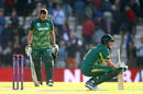 Chris Morris and David Miller were crestfallen at falling so close to a record-breaking run-chase, England v South Africa, 2nd ODI, Ageas Bowl, May 27, 2017