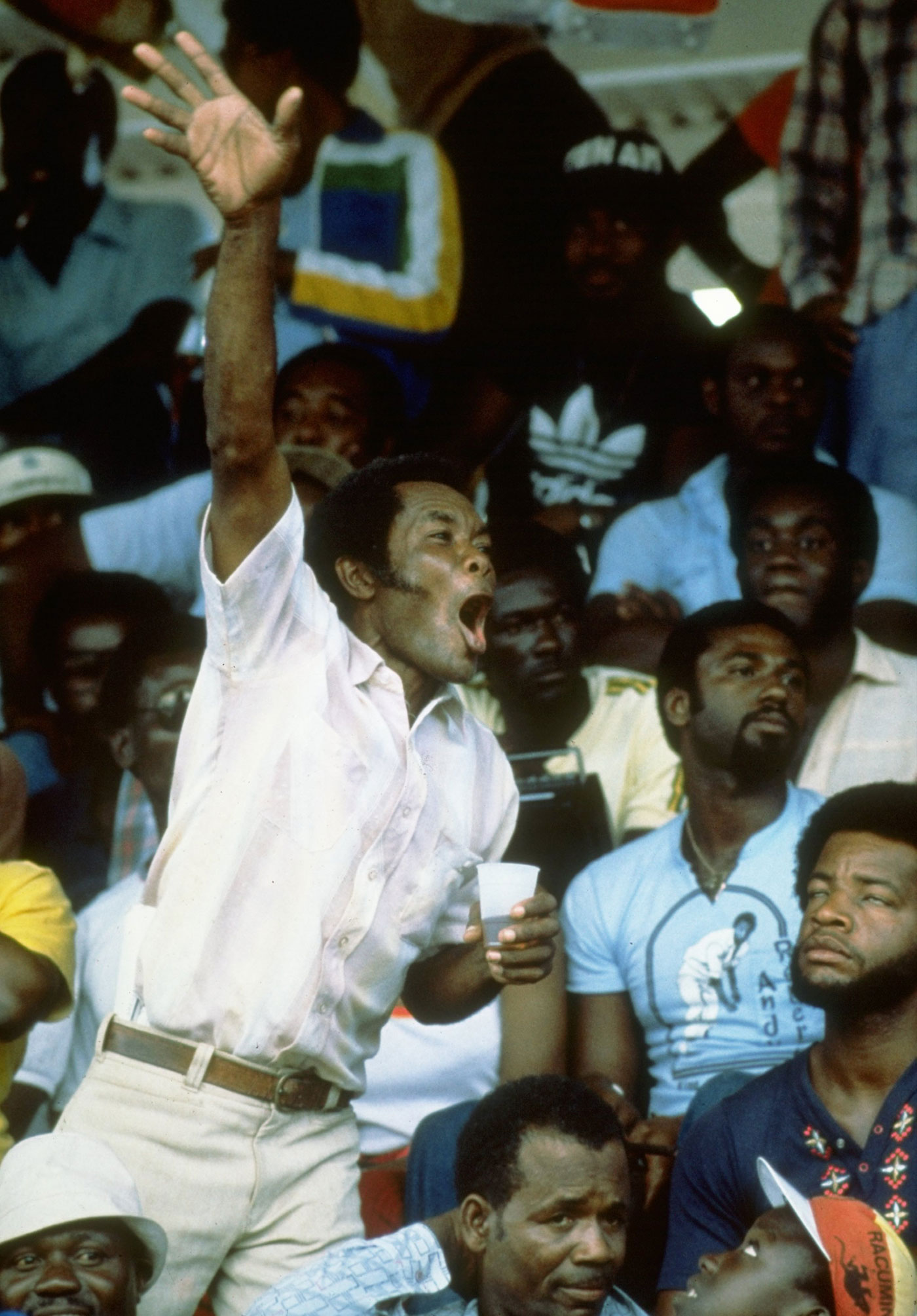 The Caribbean fan: joyful, appreciative, fun and, sometimes, noisy