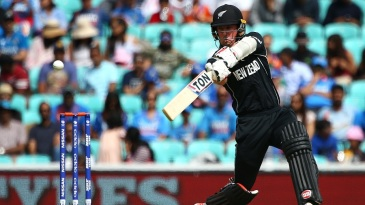 Luke Ronchi slaps one through the off side