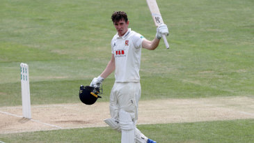 Dan Lawrence made his sixth first-class hundred