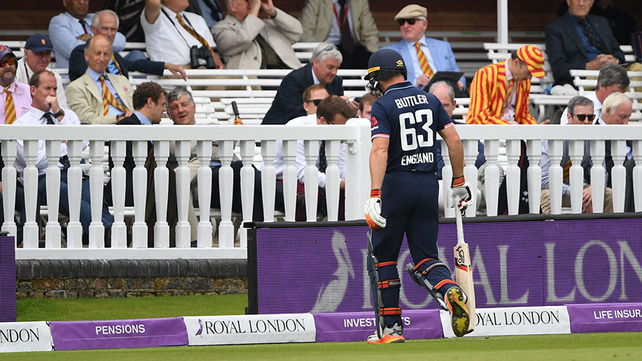 England 153 all out against South Africa