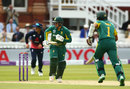 Quinton de Kock and Hasim Amla put on a 95-run stand, England v South Africa, 3rd ODI, Lord's, May 29, 2017