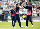 Toby Roland-Jones took 1 for 34 on debut, England v South Africa, 3rd ODI, Lord's, May 29, 2017
