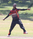 Uganda captain Davis Karashani took 3 for 21, Uganda v USA, ICC World Cricket League Division Three, Entebbe, May 29, 2017