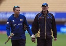 Graham Ford and Allan Donald oversee Sri Lanka's practice session, New Zealand v Sri Lanka, Champions Trophy, warm-ups, Birmingham, May 30, 2017