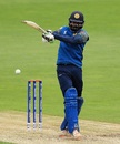 Upul Tharanga lays into a pull, New Zealand v Sri Lanka, Champions Trophy, warm-ups, Birmingham, May 30, 2017