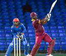 Johnson Charles pulls one over midwicket, WICB President's XI v Afghanistan, warm-up T20I, St Kitts, May 30, 2017