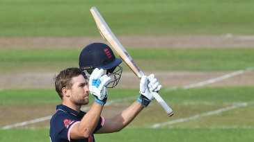 Dawid Malan finished unbeaten on 125