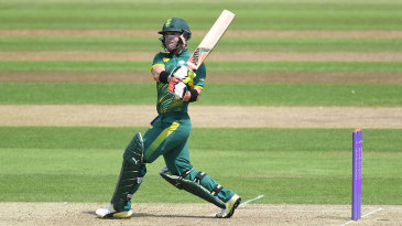 Heino Kuhn top-scored for South Africa A with an unbeaten 81