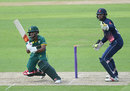 Temba Bavuma works through the leg side, England Lions v South Africa A, 1st one-day match, Trent Bridge, June 1, 2017