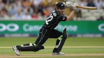 Kane Williamson drives elegantly