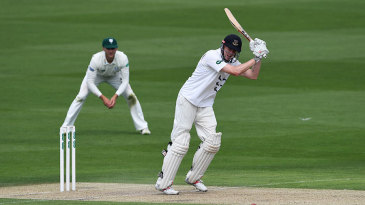Luke Wells led Sussex's first innings with a century