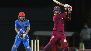 Marlon Samuels eased West Indies' chase with 35