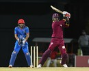 Marlon Samuels eased West Indies' chase with 35, West Indies v Afghanistan, 1st T20, Basseterre, June 2, 2017