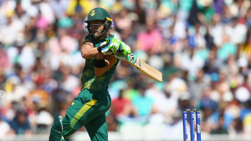 The pull was a productive shot for Faf du Plessis