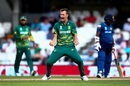 Chris Morris exults after dismissing Seekkuge Prasanna, South Africa v Sri Lanka, Champions Trophy, Group B, The Oval, June 3, 2017