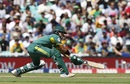 JP Duminy gets down for a sweep, South Africa v Sri Lanka, Champions Trophy, Group B, The Oval, June 3, 2017
