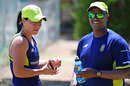 Hylton Moreeng (right), the South Africa Women's coach
