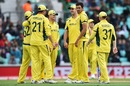 Mitchel Starc took three wickets in his eighth over to dismantle Bangladesh's lower order, Australia v Bangladesh, Champions Trophy 2017, The Oval, London, June 5, 2017