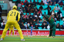 Mehedi Hasan is cleaned out by Mitchell Starc, Australia v Bangladesh, Champions Trophy 2017, The Oval, London, June 5, 2017
