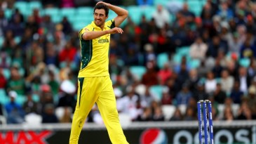 Mitchell Starc enjoyed a productive afternoon