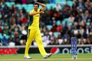 Mitchell Starc enjoyed a productive afternoon, Australia v Bangladesh, Champions Trophy 2017, The Oval, London, June 5, 2017