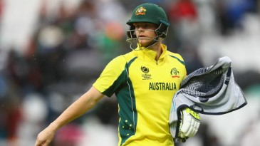 Rain threatened Australia's Champions Trophy chances, but not Steven Smith's bat